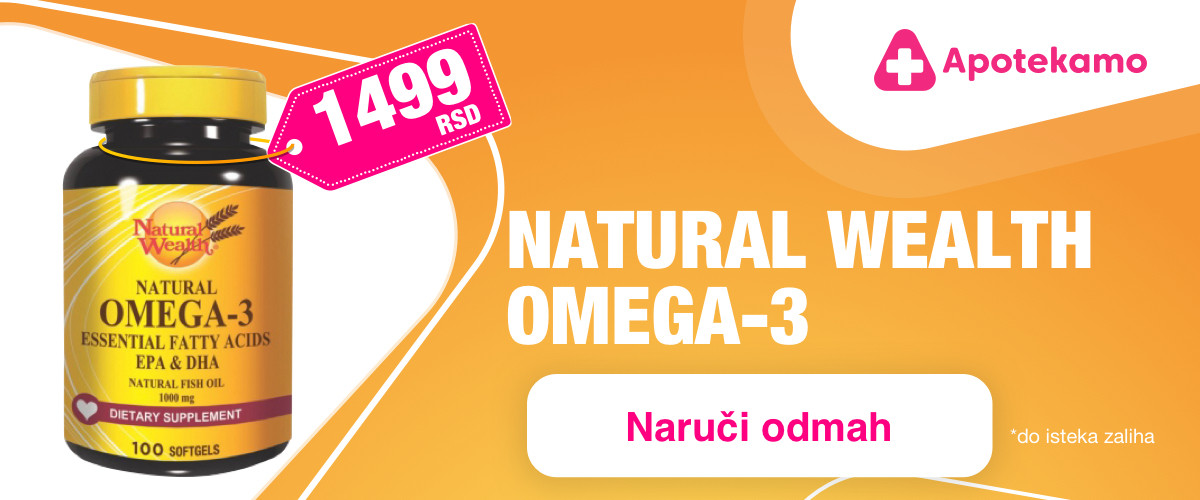 Natural wealth Omega-3